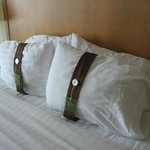 Very comfy pillows in king room/suite #215