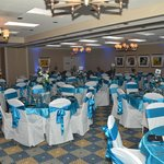 Reception guest seating