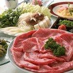 Shabushabu Sukiyaki Stake Omigyusenmonten Kamiya Photo
