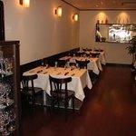 Italian Restaurant Porcellino Foto