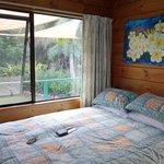 Unser Zimmer im Atiu Bed & Breakfast