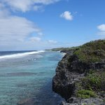 Ausblick auf das Riff von Atiu