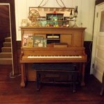 Player Piano in the living room all original furniture from Roland's family