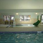 Kiddie pool in pool area