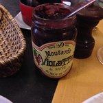 la moutarde violette de Brive