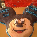Mickey Cake for my son's birthday