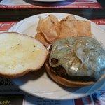 Bleu Cheese Grilled Onion Burger