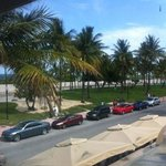 South Beach visible from our suite
