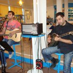 They play good Greek music