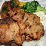 #39 bbq chicken bbq beef
