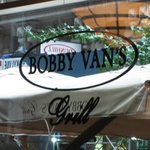 Front Window of Bobby Van's