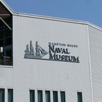 The front of the Naval Museum