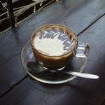 Egg coffee