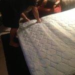 Broken hide a bed