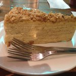 Peanut Butter Mille Crepe