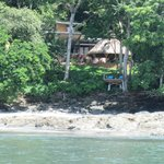 View from the Beach of The Resort at Isla Palenque