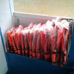 Life jackets form junior XS till XXL