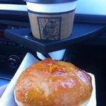 Orange Cardamom Donut & Coffee!
