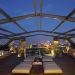 83.3 TERRACE BAR AT THE ROOFTOP OF ROYAL HOTEL PASSEIG DE GRACIA