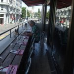 Balcony seats