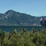 Blick vom Hotel auf den Lago di Garda