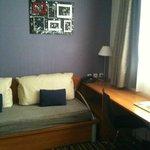 Coin Salon avec canapé-lit pour une personne