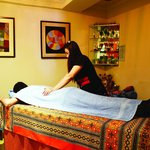 The ancient Herbal Thai massage