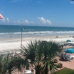 View from our ocean front condos