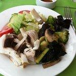 assiette legumes