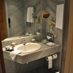 Well stacked bathroom - but little space