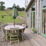 Decking/balcony Hipley cabin