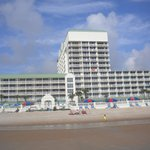 Daytona Beach Resort from the Beach