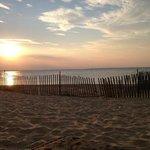 Sunset on the Kentmoor Tiki Bar Beach. 7/31/2013