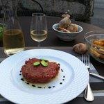 mon dîner en terrasse