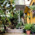 Noble House Galata garden