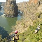 Spectacular views from The Vic Falls Canopy Tour
