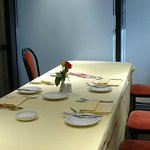private dinning room available for up to 8 people
