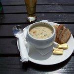 Great Fish chowder from village pub