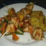 Brochettas de Pollo