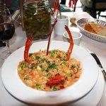 le risotto au homard