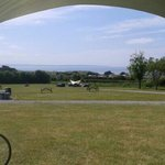 view from our tent. fabulous