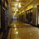 The Art Deco Hallway