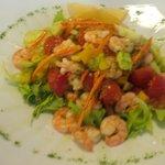 antipasto : insalata di mare alla buranea