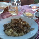 Dinner - truffle tagliatelle