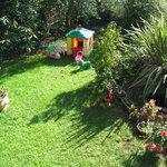 giardino con giochi