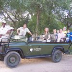 Open jeep safari with Bryce, our super knowledgeable guide and host
