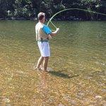 fish on at Profile Lake !