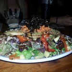 Fabulous starter salad shared by all...