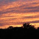 Sunset from Atlantic Inn Jul 31, 2013