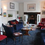 Our cosy guest lounge